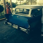 Old American car to holguin, amazing! Ask for vlad