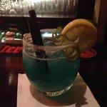 Azul Margarita served at Manzana Bar