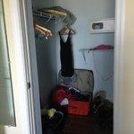 large master suite closet