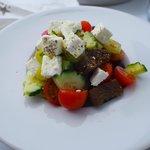 Greek salad room service