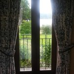 The lovely full length window with stunning views