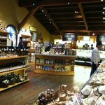 View of the awesome deli before the onslaught of limos and tour bus groups.