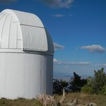 Dome and vista from top of Mt Lemmon SkyCenter Observatory