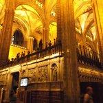Barcelona, España, Catedral de Santa Eulàlia.