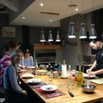 Small Intimate Class Sizes and Commercial Kitchen