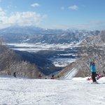 Beautiful Nozawa Onsen slopes