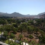 View from balcony to los cristianos