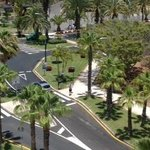View from balcony at intersection