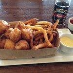 Finbarr's famous Fish & Chips