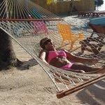 Enjoy the hammocks in the sun!