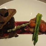 Beef filet rossini at pullman resto