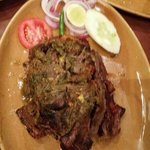 The famous mutton leg oh my lord it's heaven....