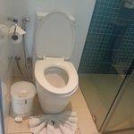 ห้องน้ำมีสายชำระ