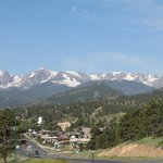 Looking to downtown Estes Park