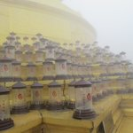 The lamps in the fog