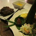 Uniquely-presented. very delicious Indonesian food