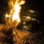 bonfire night of the wedding