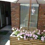 Private patio for #15