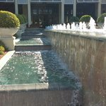 Fountains in the courtyard