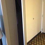 Spacious hidden closet (2)!