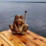 Hangin' on the dock!