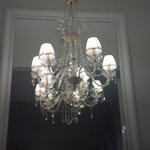 Sparkling chandelier