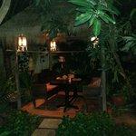 Table restaurant jardin