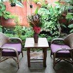 Private garden room