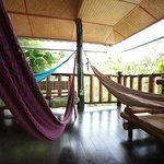 Relax in the treetop sala