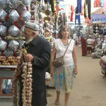 vendedor de ajos