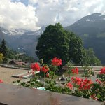 View of Jungfrau from the room