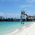 jetty and slides