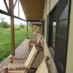 Enjoyable Area to Sit Outside - Cedar Park Lodge