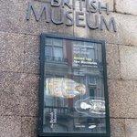 British Museum Sign