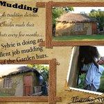 Mudding the mud huts