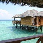 Домики на воде (самые дорогие)
