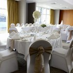 Mercer Suite set for a Wedding