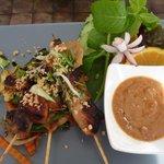 Kai Satay (brochettes de poulet au satay)