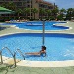 The pool fantastic