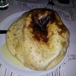 garlic bread 6.5 euro tast like burning bread