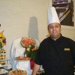 chef Mehdi et son artistique cocktail