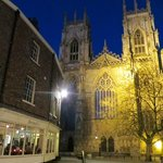 Listen to the Minster bells as you eat!