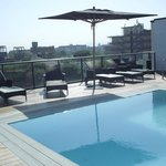 roof top swimming pool