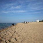 пляж напрво