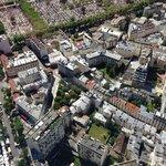Vista dell'hotel da Tour Montparnasse