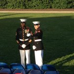 06-14 Marines prepare for the crowd