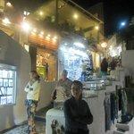 Near Franco's/Tropical bar, Restaurants for Fira Sunset