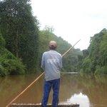 Raft Man at work