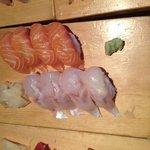 sushis saumon et ? (me souviens plus)