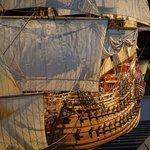 Vasa model tall ship